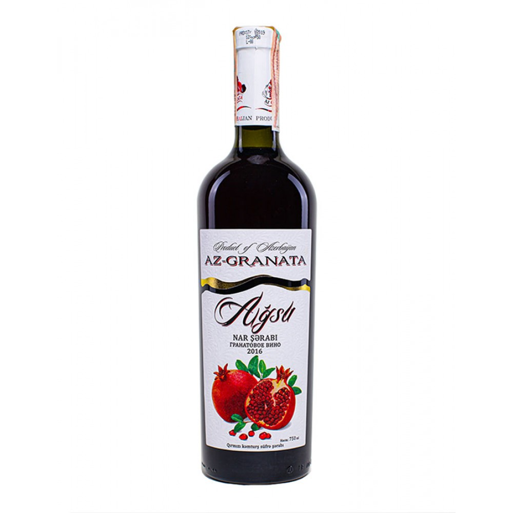 Вино AGSU гранатовое полусухое