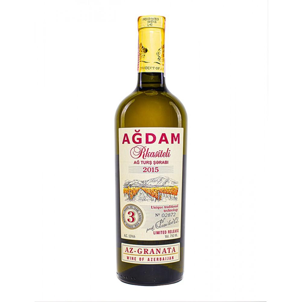 Вино AGDAM RKASITELI белое сухое