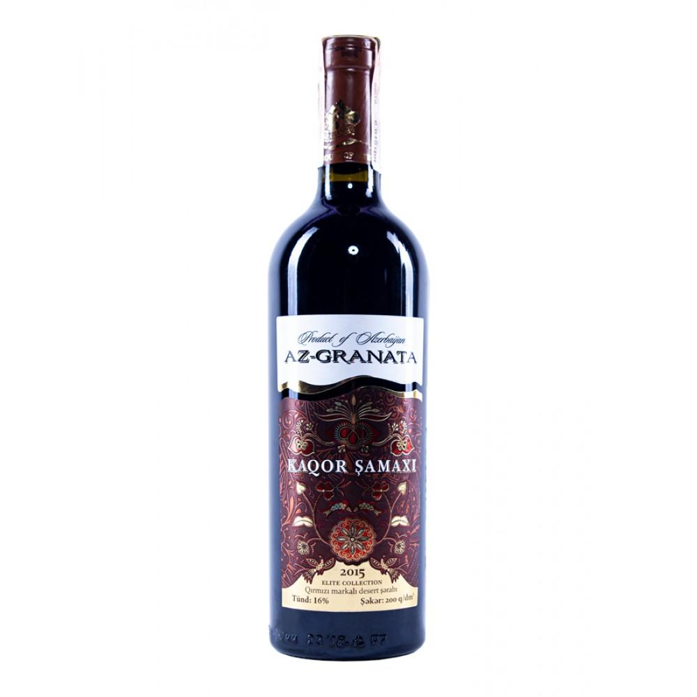Вино KAQOR SAMAXI красное десертное