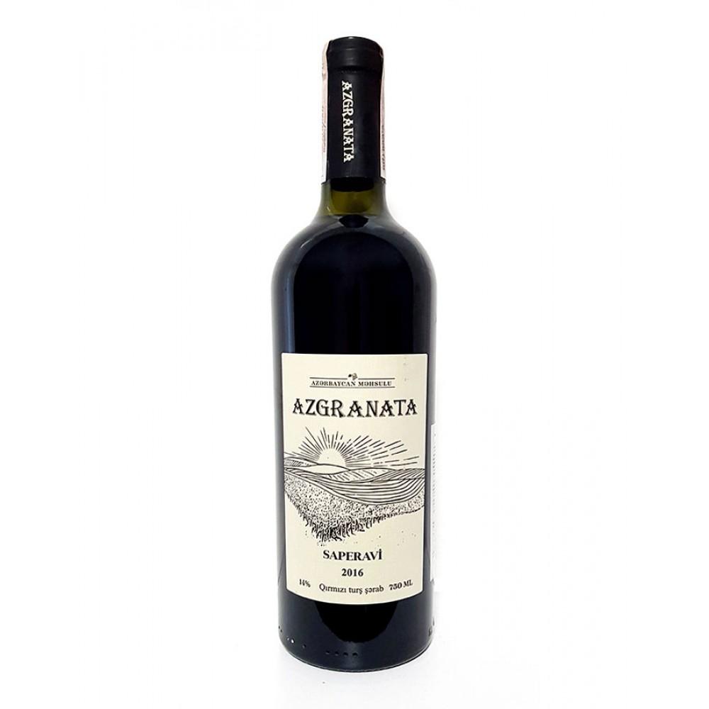 Вино MƏDRƏSƏ SAPERAVI марочное